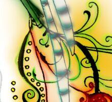 Bird of paradise 02 Sticker