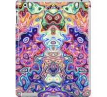 Faces In Abstract Shapes 8 iPad Case/Skin