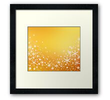 Snowflakes Framed Print