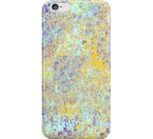 Decorative Abstract in Blue and Gold iPhone Case/Skin
