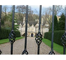 Manor House Photographic Print