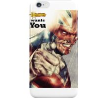 Captain Britain  iPhone Case/Skin