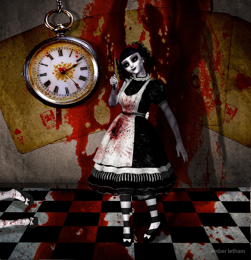 Alice death dolly by amber letham