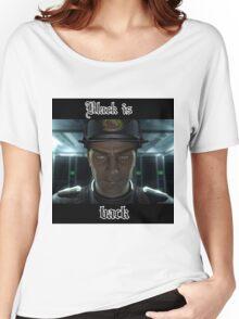 Captain black Women's Relaxed Fit T-Shirt