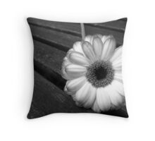 On The Bench ... Throw Pillow