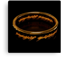 The One Ring Canvas Print