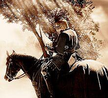 A Knight on Patrol by Samuel Vega
