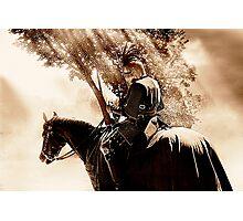A Knight on Patrol Photographic Print