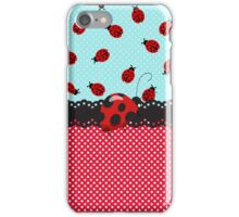 Charming Ladybugs iPhone Case/Skin