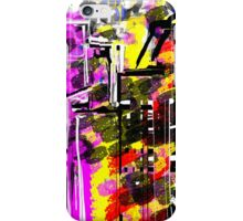 Abstract City in Wild iPhone Case/Skin
