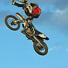 Over the bars by Barrie Collins