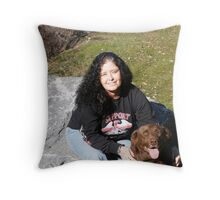 Bubba & Me Throw Pillow