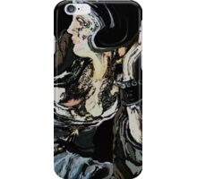 Abstract woman iPhone Case/Skin