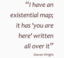 Existential map... (Amazing Sayings) Kids Clothes