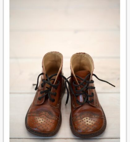 Baby Brogue Boots Sticker