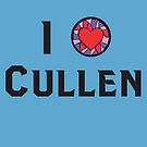 I Heart Cullen by NevermoreShirts