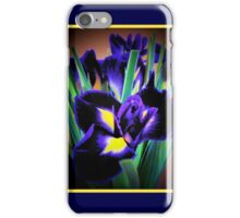 A Different View of Irises iPhone Case/Skin