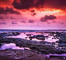 Volcanic Sunset 2.0 by Tracie Louise