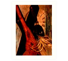 IN SEARCH OF BELIEF III Art Print
