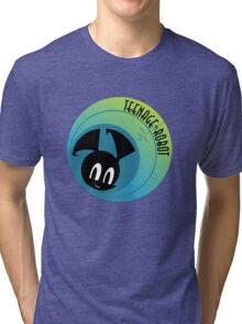Teenage Robot Jenny XJ-9 Tri-blend T-Shirt