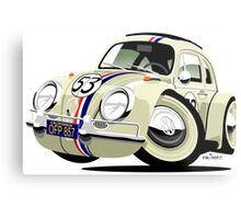 VW Beetle Herbie the Lovebug Metal Print