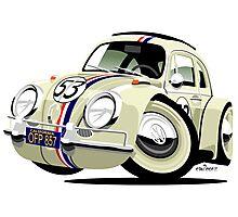 VW Beetle Herbie the Lovebug Photographic Print