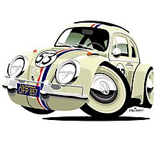 VW Beetle Herbie the Lovebug Photographic Print