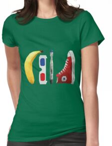 Allons-y my friend! Womens Fitted T-Shirt