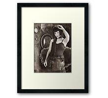 Vintage Steampunk Framed Print