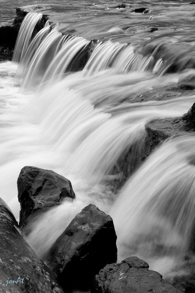 Aysgarth , Lower Falls, North Yorkshire by jonAt