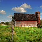 Ashtabula County Barn by thatstickerguy