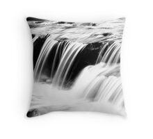 Aysgarth, Lower Falls, North Yorkshire Throw Pillow