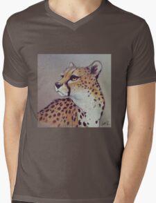 Spots Mens V-Neck T-Shirt