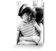 Isabel Embraces Grace Greeting Card