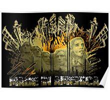 "Obama Rush 44 ""Made in America"" Poster"