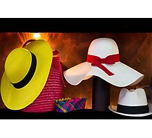 Panama Hats Are Made In Ecuador III Photographic Print