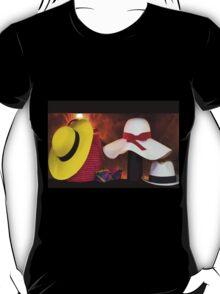 Panama Hats Are Made In Ecuador III T-Shirt