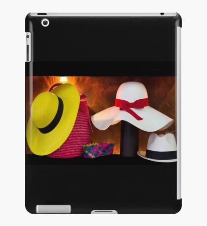 Panama Hats Are Made In Ecuador III iPad Case/Skin