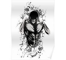 Attack on Wall Poster
