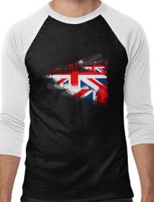 Union Jack Men's Baseball ¾ T-Shirt