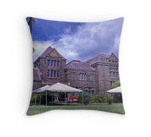Bishop Museum Throw Pillow