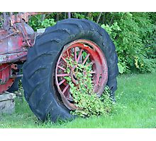 Tractor:  Retired Photographic Print