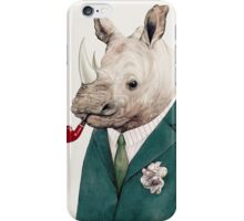 Rhinoceros Green iPhone Case/Skin
