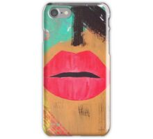 Abstract Face iPhone Case/Skin