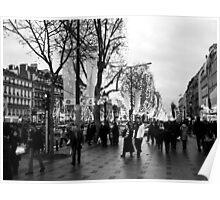 Champs-Elysées Poster