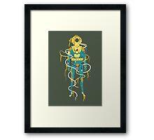 Aquanaut Framed Print
