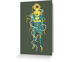 Aquanaut Greeting Card