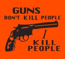 Happy Gilmore – Guns Don't Kill People, I Kill People by dreamtee