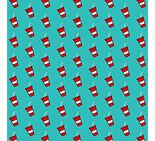 Soda Pattern - Drinks Series Photographic Print