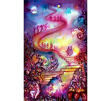 GARDEN OF THE LOST SHADOWS / MYSTIC STAIRS  Photographic Print